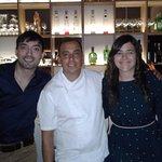 Con el Chef Martín Lavecchia, un verdadero anfitrión, excelente lugar!!!