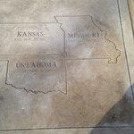 Stand on Three States: Kansas, Missouri, Oklahoma