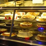 Delicious-looking cakes and pies!