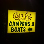 Plenty of parking for trucks & boat trailers that come from Sam Rayburn or Toledo Bend reservoir