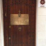 The welcoming door