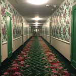Was half-expecting to see the Evil Twins from The Shining at the end of the hallway.