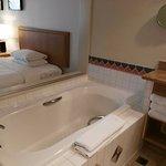 Bath tub area