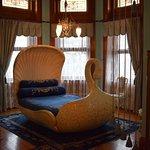Sally Dooley's famous Swan Room