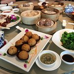 Dim sum at Charming Hotel