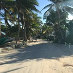 The Street in Front of Caye Casas