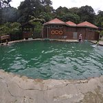 Pool at the hot spring (cold water)