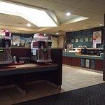 Restaurant interior, AALTOS Garden Cafe, 2401 Saskatchewan Ave. W., Portage la Prairie, Manitoba