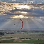 Lempes paragliding site near Brasov