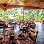 Heaven Restaurant terrace