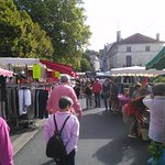 Market Day in Riberac.