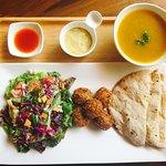 Falafel for Life - Choice of Lentil Soup or Tomato Soup :)