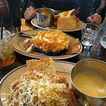 Amazing sides, good chicken, LARGE quantities