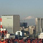 富士山が見えてます!