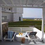 Peristerionas veranda (sunbeds included)