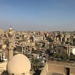 View over Cairo from the Mosque of Ibn Tulun