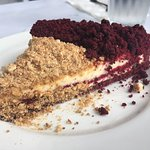 I had a pleasant time and many pleasant meals. The red velvet pie was delicious! The only downti