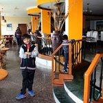 Another restaurant in Gem International were buffet is served