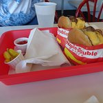 Our Double-Double Animal Style Burgers :-)