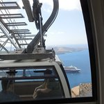 Santorini Cable Car Foto