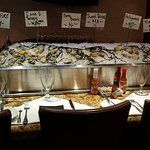 Seafood on display at C & S