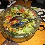 Salat at Olive Garden