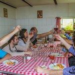 Tour Artesanos di Pasta, comiendo nuestra propia creación.