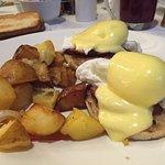 Eggs Benedict. Yum.