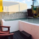 Piscina privada Suites