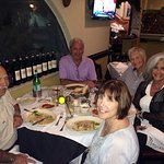 Dining with friends at Gianni's