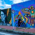 Graffiti bike tours Luisca