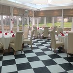 Orangery set for private function