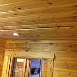 Plafond de la chambre adulte