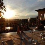 La nostra bellissima terrazza panoramica che si affaccia sulla Valdichiana!