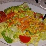 Ancora una vista dell'abbondante insalata