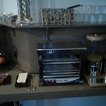 Zona 2 Frutas zumo y calentar tostadas.