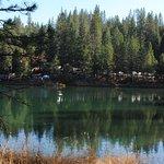 Early Morning Bank Fishing at Rollins Lake, Long Ravine (Colfax Side)