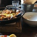 Paella con Mariscos