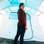 Наша палатка в кемпинге ГТК Суздаль.