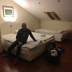 Room 218, large, basic, very warm & quiet! Excellent four nights sleep in this room.
