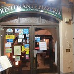 Restaurant entrance