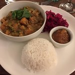 Sweet potato & coconut curry (vegan)
