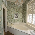 Bathroom | Scarlett's Retreat | Ballastone Inn | Savannah GA