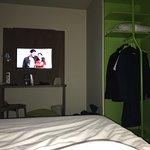 Petite chambre, manque cruellement de place