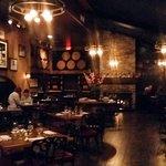 Classy, rustic wine bar