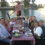 The only place in the world for an authentic Italian meal on a Gondola...