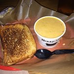 Lobster Grilled Cheese Sandwich and Lobster Bisque