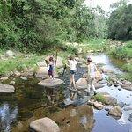 Walking safari, Mathews Range, river walk.