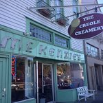 The Creole Creamery on Prytania.