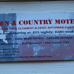 Town & Country Motel Foto